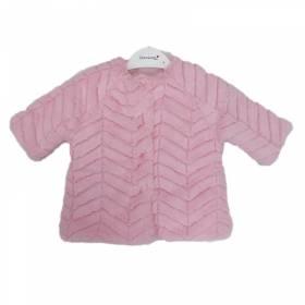Haina blanita roz pentru bebeluse