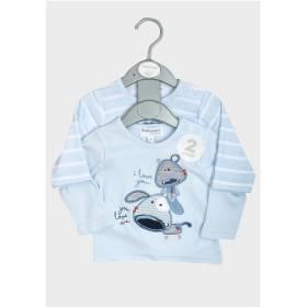 Set bluze bebelusi - model catelus