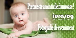 Fotografii pentru evenimente speciale, nunti, botezuri.