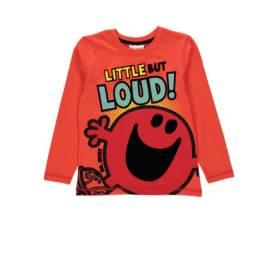 Bluza portocalie pentru baietei - Mr. Noisy