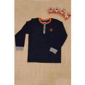 Bluza bleumarin pentru baietei