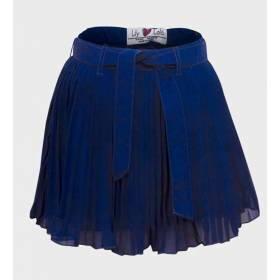 Fusta albastra pentru fetite