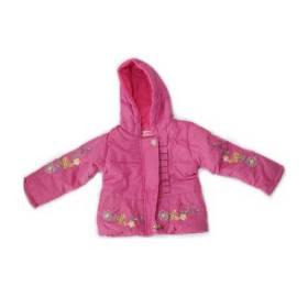 Geaca roz bebeluse - model floricele