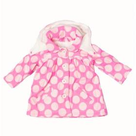 Jacheta de toamna pentru bebeluse - model buline