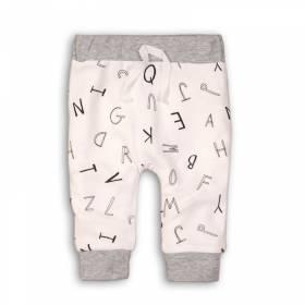 Pantaloni pentru bebelusi - model alfabet