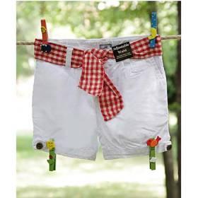 Pantaloni scurti fetite - talie ajustabila
