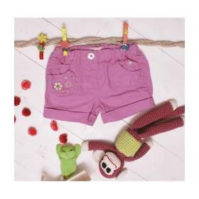 Pantaloni scurti roz bebeluse