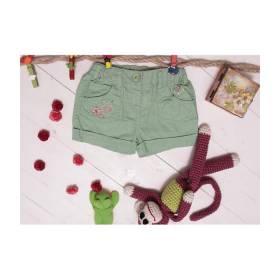 Pantaloni scurti verzi bebeluse