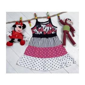 Rochita vaporoasa model Minnie pentru fetite