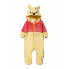 Salopeta  pufoasa bebelusi model Winnie The Pooh