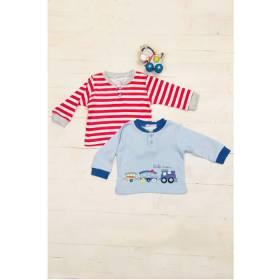Set bluze bebelusi - model trenulet