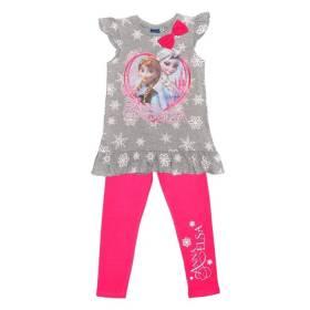 Set Frozen fetite - bluza si pantalon