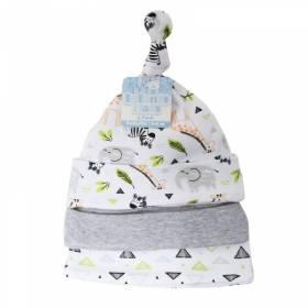 Set 3 caciulite bebelusi - model animalute