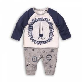 Bluza si pantaloni bebelusi - model leu
