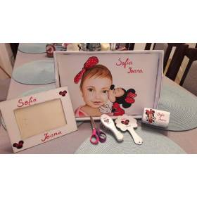 Set mot personalizat - model Minnie