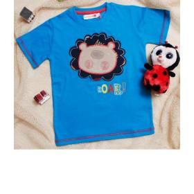 """Tricou albastru """"Roar"""" pentru baietei"""