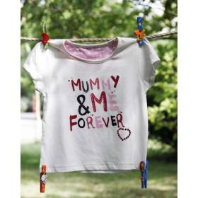 Tricou bebeluse - model Mummy and Me Forever