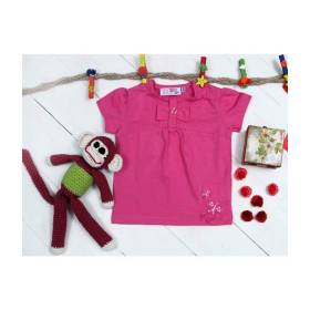 Bluza roz bebeluse- model fundita