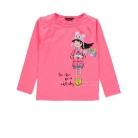 Bluza roz pentru bebeluse