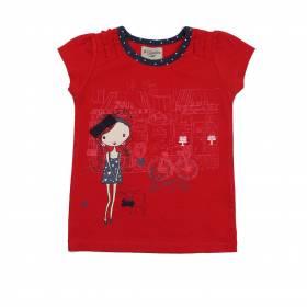 Tricou rosu pentru bebeluse