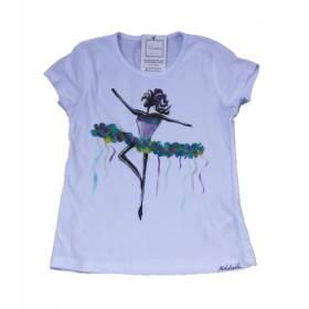 Tricou pictat - Micuta balerina