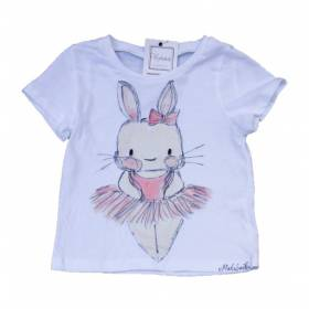 Tricou pictat manual - Little bunny