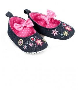 papucei fetite 6 - 9 - 12 - 15 luni, marca Soft Touch