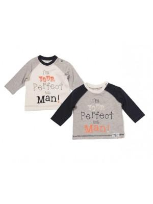 bluze cu mesaje bebe 0 - 3 luni
