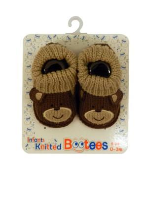 botosei tricotati bebelusi 0 - 6 luni, marca Soft Touch