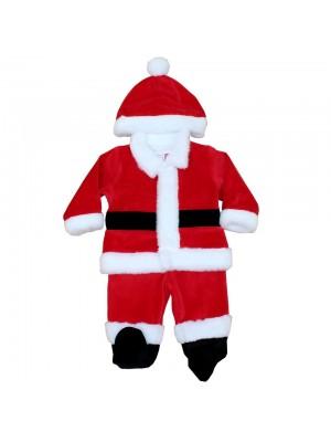 Costum Mos Craciun pentru bebelusi