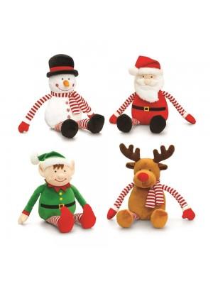 Jucarii plus copii - Mos Craciun, Ren, Elf, Om de zapada