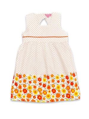 Rochita fetite - flori portocalii