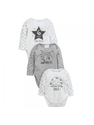 seturi cadou bebe 0 - 6 luni body