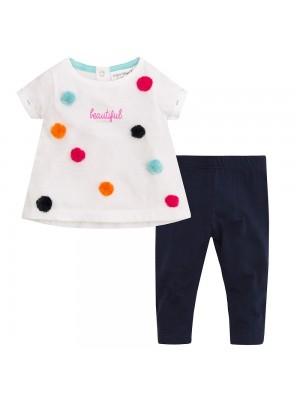 Set bebeluse - tricou si colanti