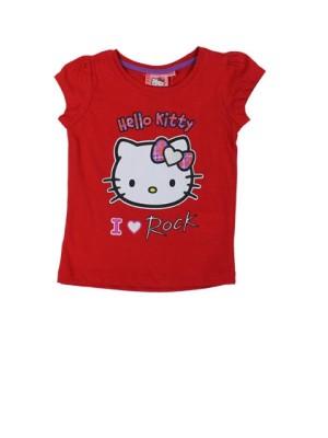 Tricou rosu Hello Kitty fetite