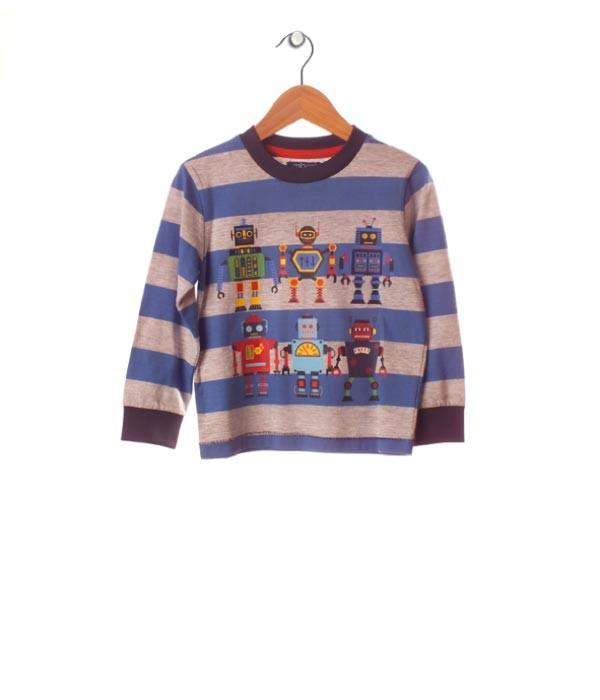 bluza roboti baieti 2-3-4 ani