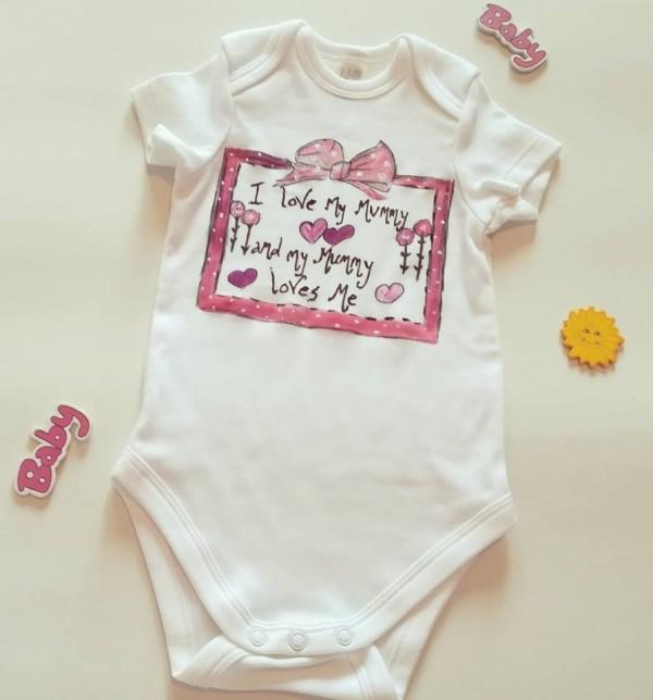 Body bebelusi cu mesaj pentru mamici
