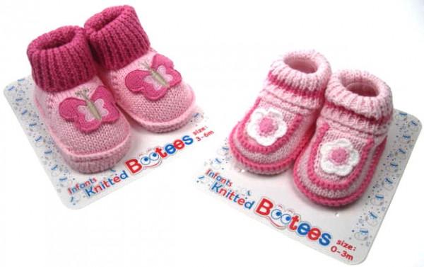 botosei tricotati 0-3-6 luni