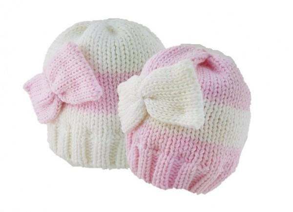 caciulita tricotata nou nascut