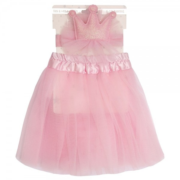 fusta tutu si coronita pentru bebeluse 0-6-12-24 luni