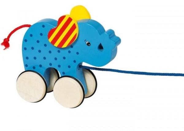 jucarie de tras elefant, marca Goki