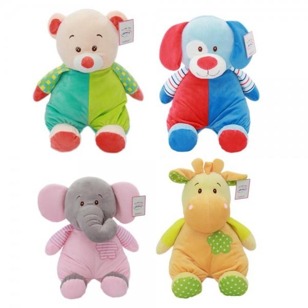 jucarii bebe cu sunete elefant, catelus, ursulet