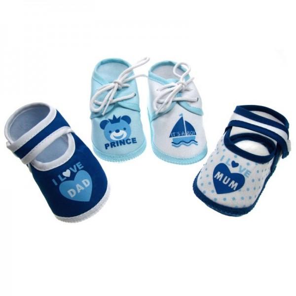 papucei bebe 0-3 luni