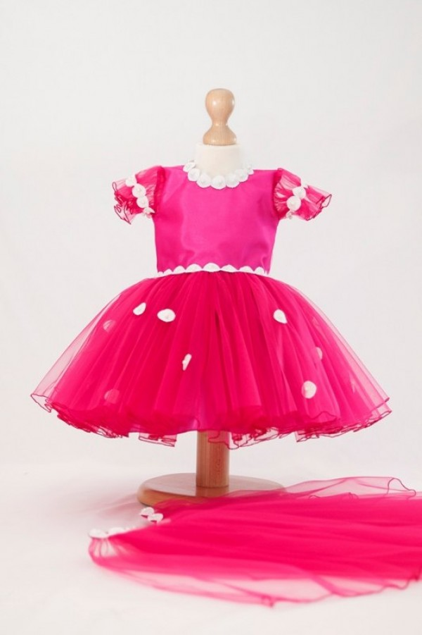 rochita roz ocazie fetite 4 - 5 ani
