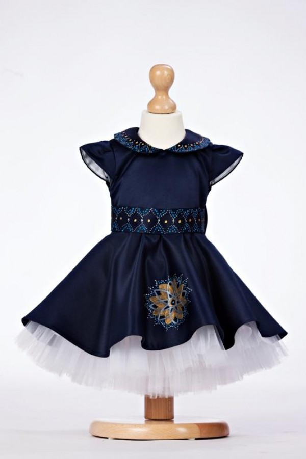 rochita albastra ocazii speciale 2 - 3 ani
