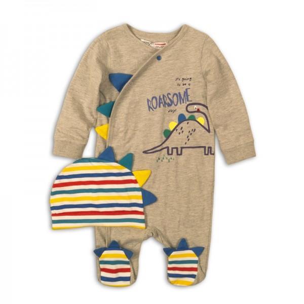 salopete bumbac bebelusi 0-3 luni