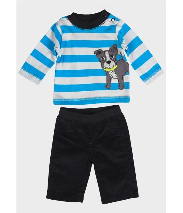 compleu bluza si pantalon bebe 0 -3 luni