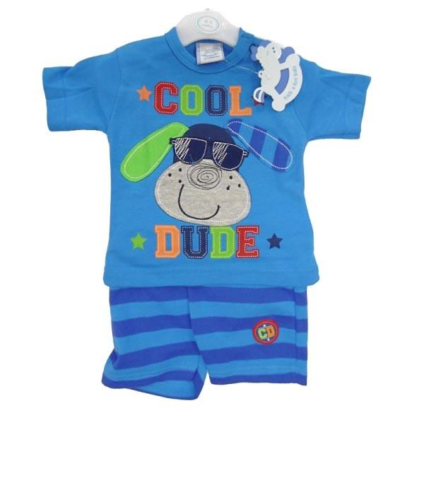 set bluza si pantalon bebelusi 0-9 luni, marca Rock a Bye Baby
