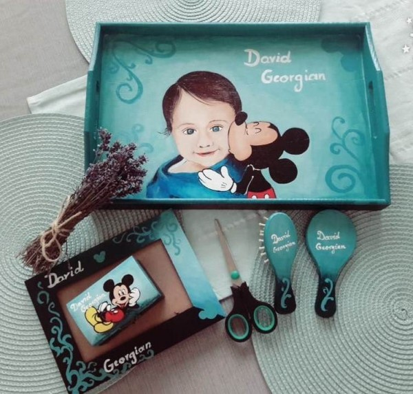 set mot bebe Mickey pictura manuala