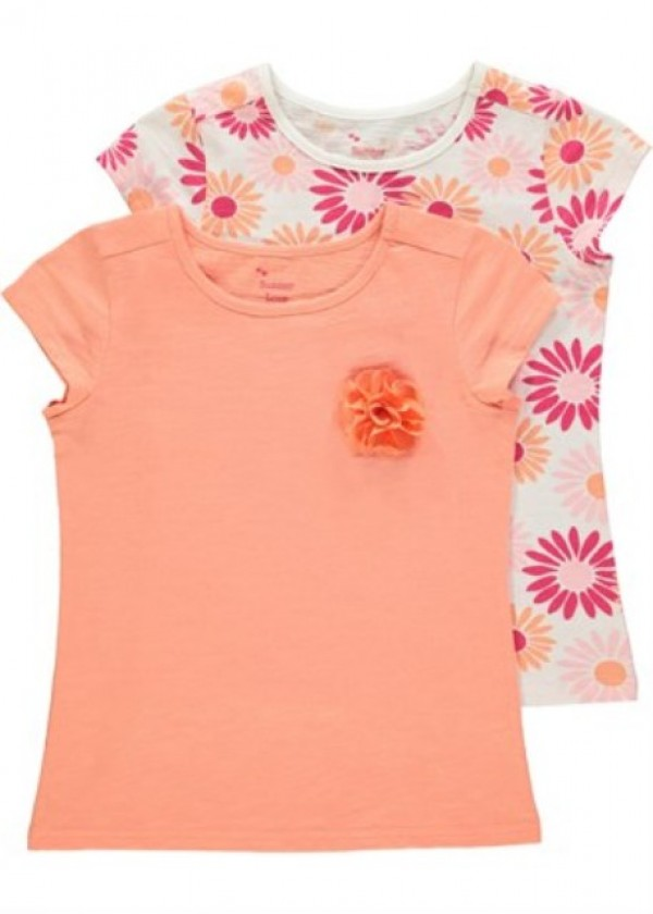 set tricouri fetite 2-3 ani, Matalan